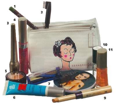 Содержимое женской сумочки. или красота на вынос.